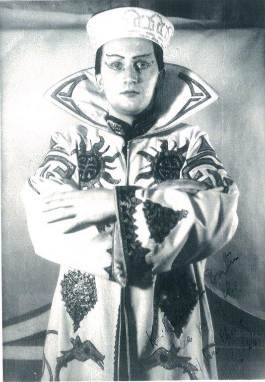 "Franciszek Lehar ""Kraina Uśmiechu"" Sou Chong Kraków 26 czerwiec 1955"