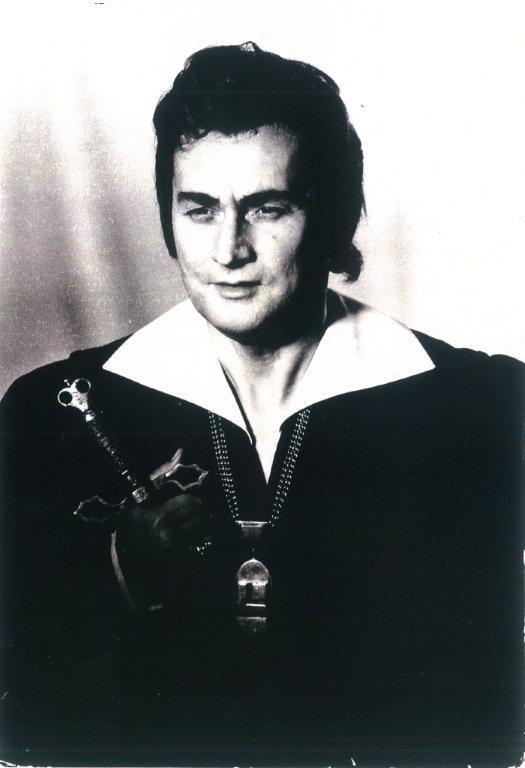 """Giuseppe Verdi """"Don Carlos"""" Don Carlos Warszawa, 8 wrzesień 1973"""