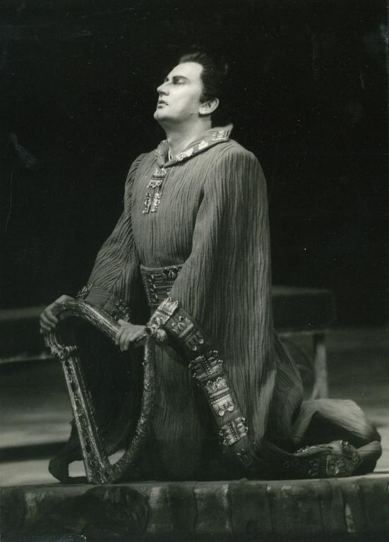 """Ryszard Wagner - """"Tannhäuser"""" Tannhäuser, Karlsruhe, 15 maj 1968"""